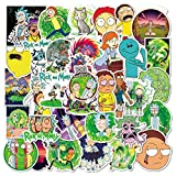 Rick and Morty Stickers - Pack of 100 Stickers - Vinyl Stickers - The Funny Stickers for Laptops, Computers, Hydro Flasks, Water Bottles