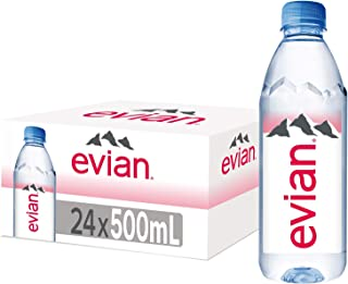 Evian Natural Mineral Water - 24 X 500ml