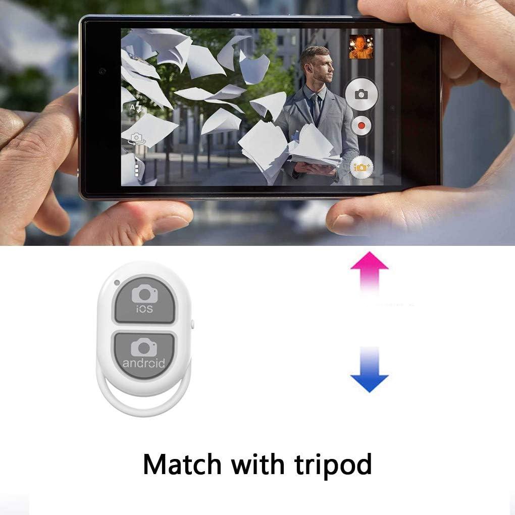 Rosa wufeng Control de Bluetooth Bluetooth Bot/ón Selfie 4.0 c/ámara del tel/éfono m/óvil del Obturador inal/ámbrico de Control Selfie la versi/ón 4.0 de la c/ámara de Control Remoto