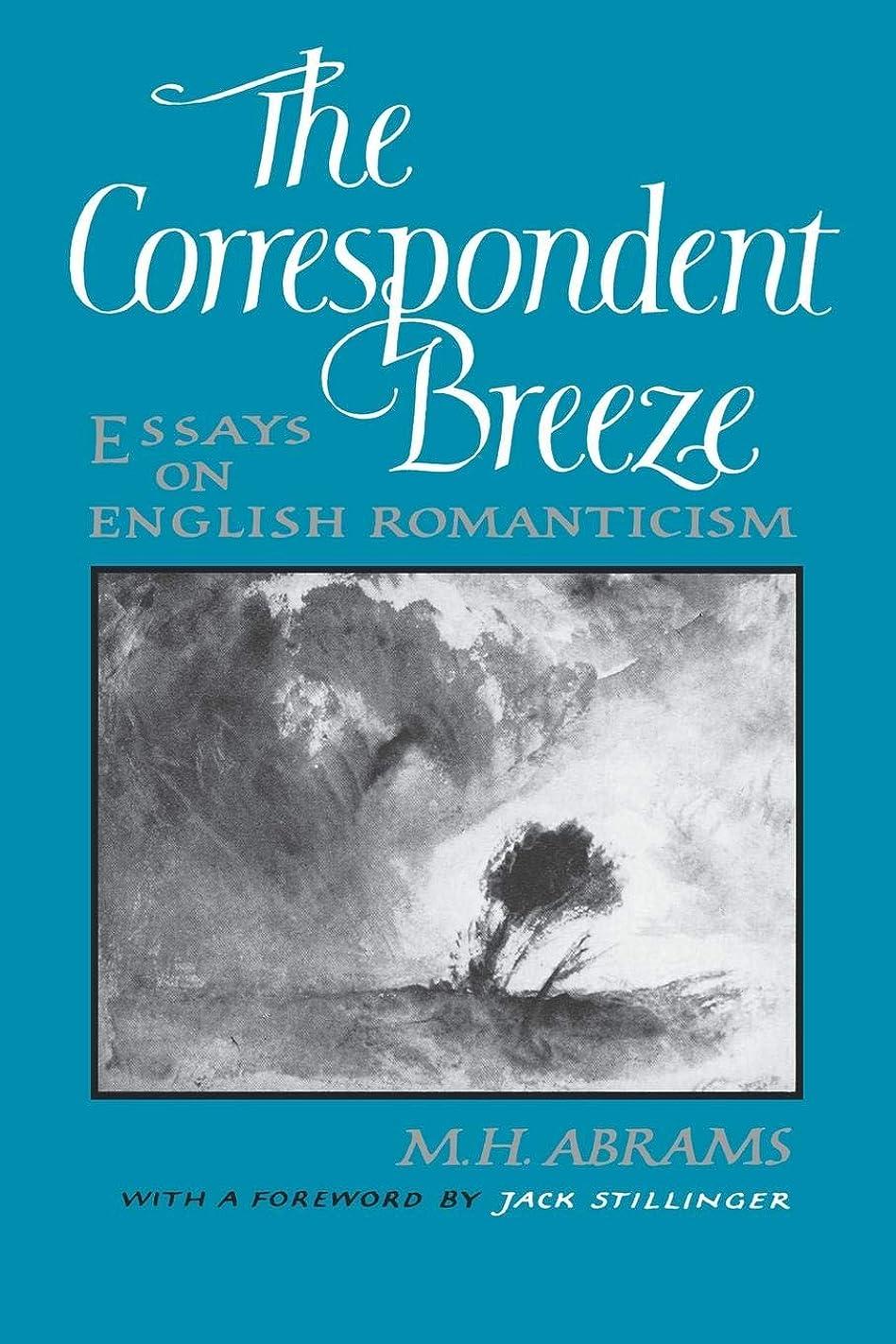エステートマークダウン反対The Correspondent Breeze: Essays on English Romanticism