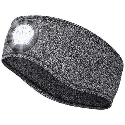Kopflampe Stirnlampe Geschenke für Männer & Frauen - Camping Gadgets Geschenke für Männer Papa Weihnachten Geburtstag, Stirnlampe Joggen Camping Zubehör Kreative Geschenke für Radfahrer Angeln Läufer