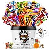 ALL SWEET 28 Teile Süßigkeiten aus Aller Welt, Amerikanische Süssigkeiten Box XXL, Süßigkeiten Großpackung die Mystery Box