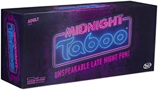 Midnight Taboo Board Game for Adults; Fun and Hilarious Adult Party Game; Game of Unspeakable Fun