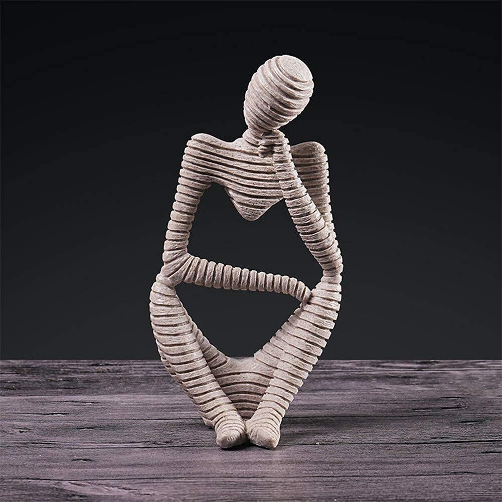 Max 65% OFF Jabetc Abstract Thinker Statues Decoration and Selling Figur Sculptures