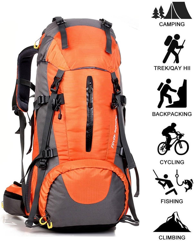 Cozy Rucksack, Outdoor wasserdicht Sport Rucksack groe kapazitt Camping wandern Rucksack Freizeit Reise Rucksack, Unisex Rucksack