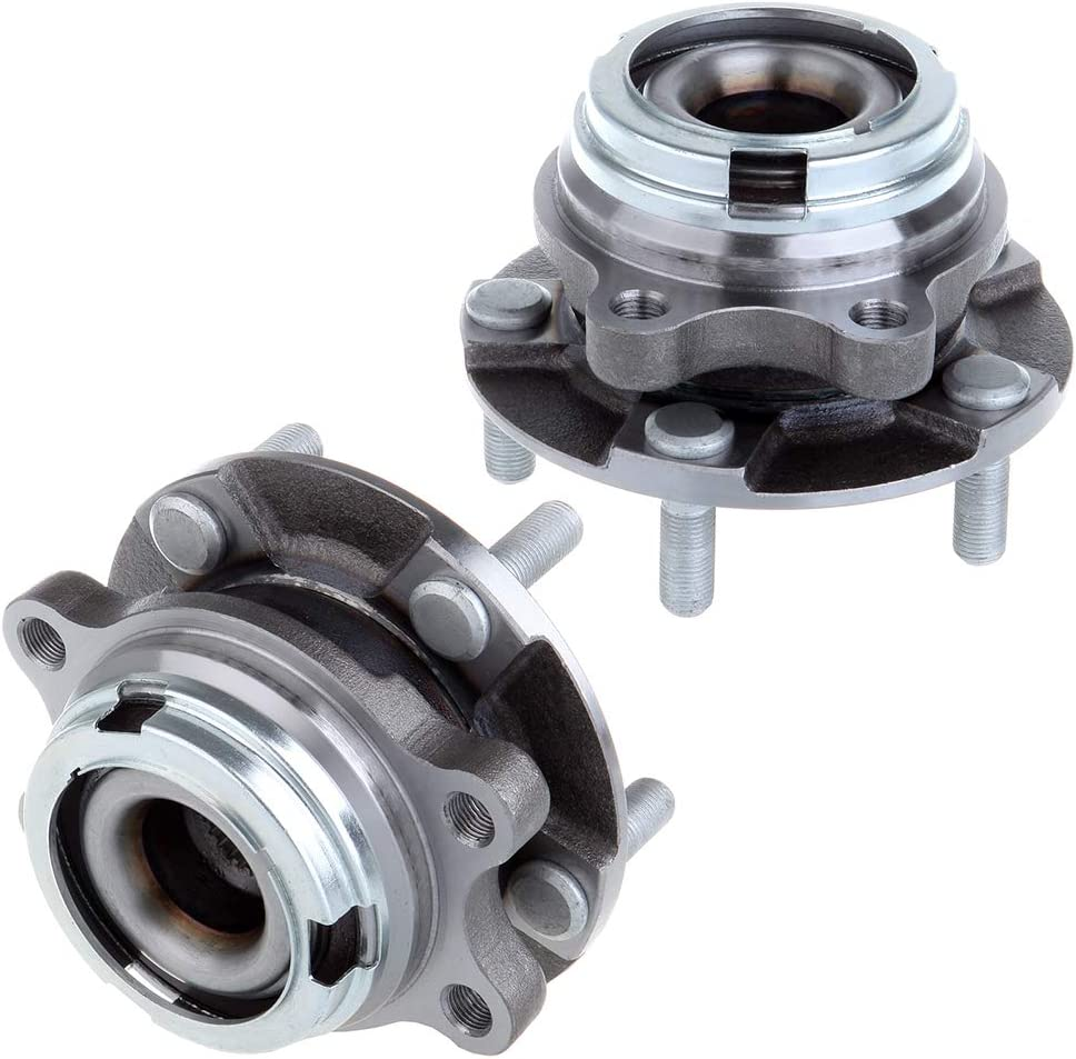 ECCPP Front Right Wheel Bearing 2008-2011 for Infin 信託 Assembly 新発売 Hub