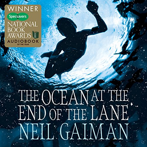 The Ocean at the End of the Lane audiobook cover art