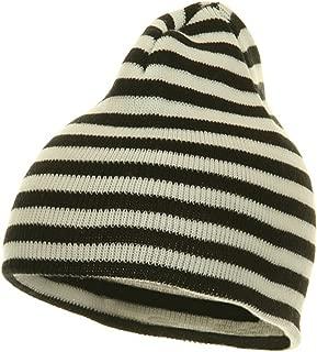 Trendy Striped Beanie