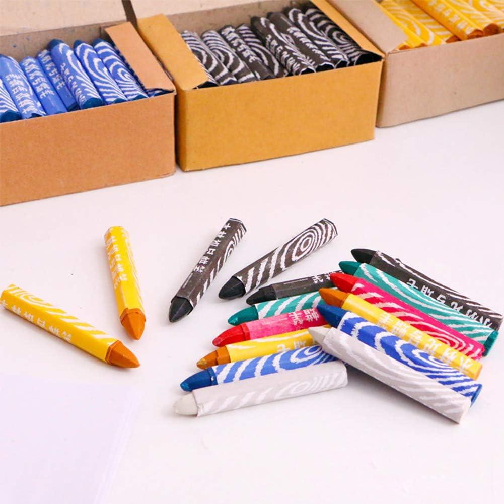 Waterproof Tire Marking Crayon,MoreChioce 50PCS Universal Motorcycle Repair Crayon Tire Marking Wood Marking Pens Industrial Pens,Green