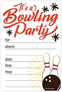 Best bowling birthday party invitations Reviews