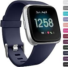 Ouwegaga Bands Compatible with Fitbit Versa/Versa 2/Versa Lite/Versa 2 SE Water Resistant Fitness Straps for Women Men Multi Color