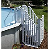 Easy Step Pool Entry System with Gate