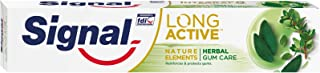 Signal Herbal Gum Care Pasta de Dientes - 6 Paquetes de 75 ml - Total: 450 ml