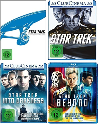 Star Trek (Kinofilme 1-13) - Stardate Collection (Filme 1-10) + BLU-RAY 11+12+13 im Set - Deutsche Originalware [15 Blu-rays]