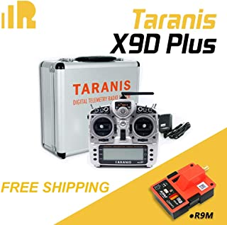 FrSky 2.4G ACCST Taranis X9D Plus Transmitter with Carton and Aluminum Box- Free FrSky R9M