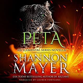 Peta: An Elemental Series Novella audiobook cover art