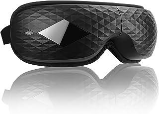 【最新アップグレード版】Hshenda アイウォーマー グラフェン加熱 Bluetooth音楽機能 180度二つ折り USB充電 母の日/父の日/誕生日/記念日 プレゼント 日本語説明書/収納ポーチ付き 日本語音声対応 (ブラック)