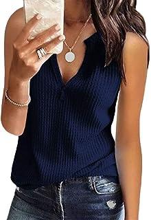 FindTheSecretDreams Donna FTSD Maniche Corte Camicia Basic