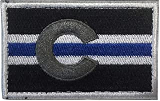 SpaceCar USA The Centennial State Colorado Colo CO State Flag Tactical Morale Patch 3