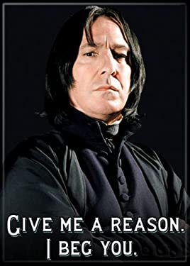 "Ata-Boy Harry Potter Snape 'I Beg You' 2.5"" x 3.5"" Magnet for Refrigerators and Lockers"