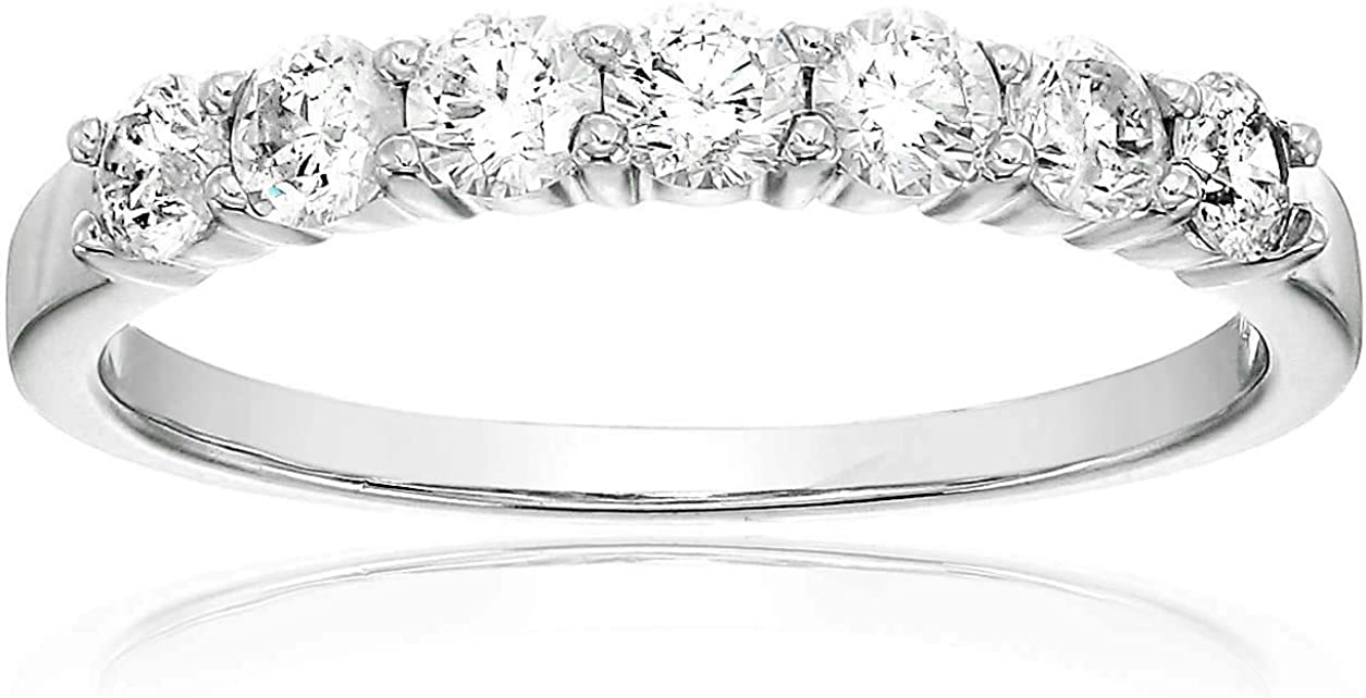 Vir Jewels At the price of surprise 1 2 cttw 7 Stone White Diamond Gold Band Portland Mall Wedding 14K