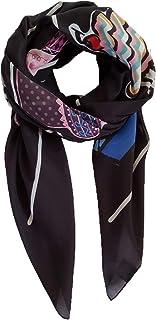 Art4Simon Women's Large Lightweight Fun Novelty Custom Designed Fashion Scarf