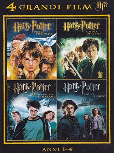 Harry Potter Anni 1,4 (4 Grandi Film) (Box 4 Dv)