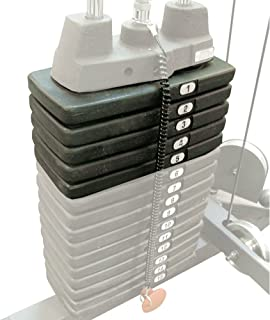 Body-Solid 50 Pound Weight Stack (SP50)