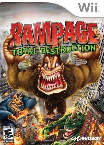 Rampage: Total Destruction - Nintendo Wii