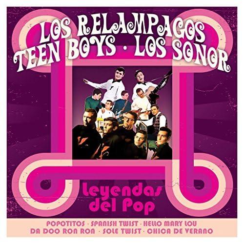 Los Relampagos, Teen Boys & Los Sonor