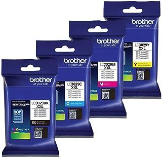 Brother LC-3029XXL Ink Cartridge Set of Black, Cyan, Magenta, Yellow in Retail Packing