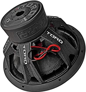 "$159 » Toro Tech – Fierce15, 15 Inch 800 Watts RMS – 1600 Watts MAX – Dual 4 Ohm 2.5 Inch, 15"" Car Audio Subwoofer for Cars, Truc..."
