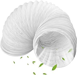 Inntek Abluftschlauch PVC Durchmesser 150 mm, 3 m für Klimaanlagen, Wäschetrockner, Abzugshaube