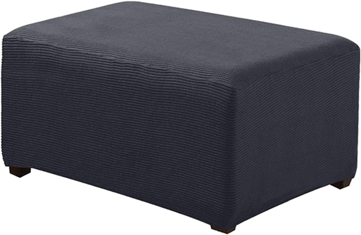 YSLJW Pedal Weekly update Cover Stretch Very popular! Storage Slipcover Fo Ottoman Rectangle