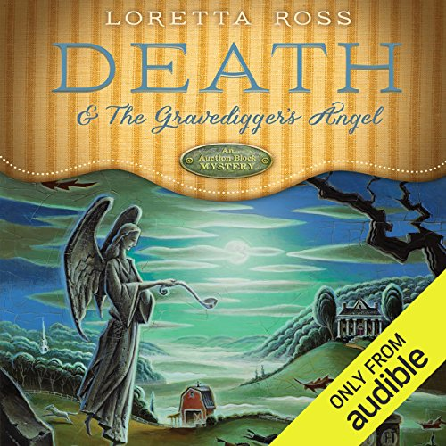 Death & the Gravedigger's Angel audiobook cover art