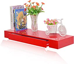 Floating Ledge Creative Multi-function Storage Hanging Dressing Table Against Wall Learning Computer Desk Wood-based Panel...