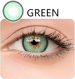 fdf3dfb126 Lentes de contacto, 2PCS Contact lenses de ojos grandes y blandas, Agrandar  los ojos