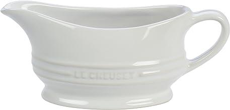 Le Creuset Stoneware Gravy Boat, 12 oz., White