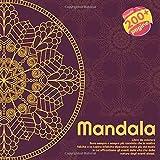 Mandala Libro da colorare - Sono sempre e sempre più convinto che la nostra felicità o la nostra infelicità dipendano molto più dal modo in cui ... vita che dalla natura degli eventi stessi.
