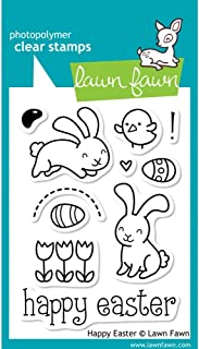 Lawn Fawn Clear Stamps-Happy Easter