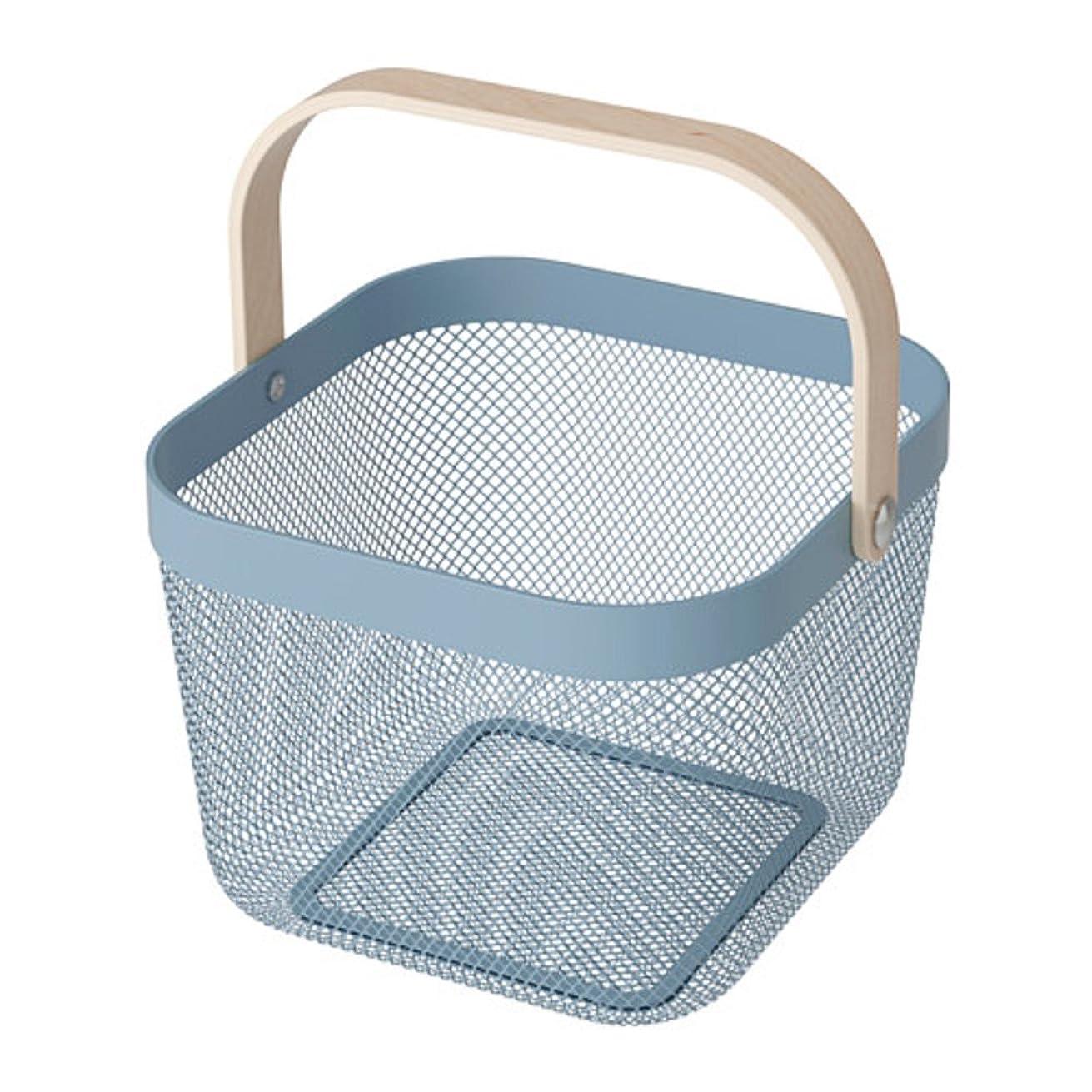 基本的な合併金額IKEA/イケア RISATORP :バスケット25x26x18 cm ブルー (503.504.87)