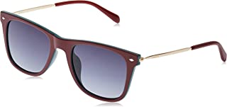 Fossil Men's Fos 3068/s Square Sunglasses, RED GRNBK, 52 mm