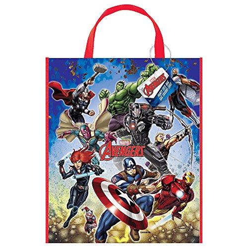 Große Kunststoff Avengers Party Tasche, 33cm x 28cm