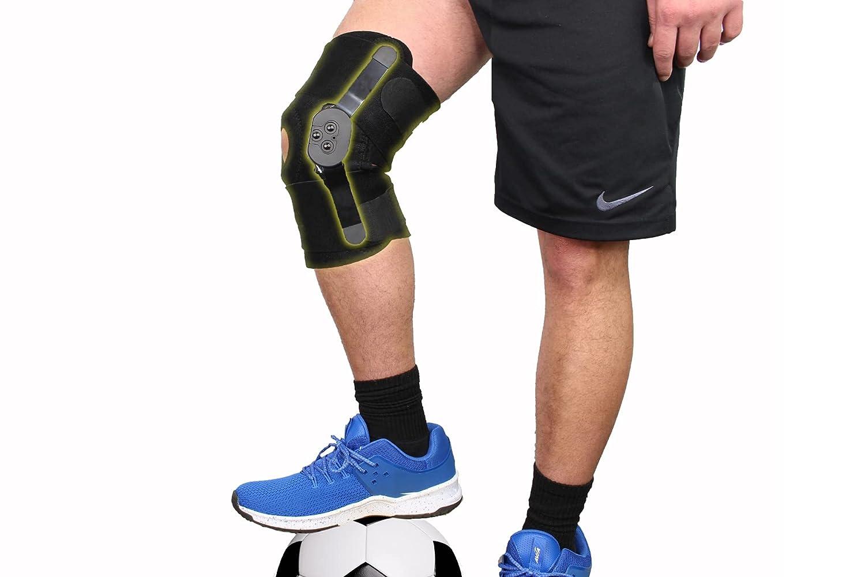 Hinged ROM Adjustable Open Patella Knee Stabilizing Max 76% 35% OFF OFF Brac Runners