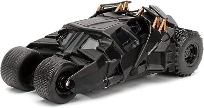 Jada- Batmóvil Coche Metal 2008 El Caballero Oscuro 1:32 coleccionismo, Color negro (253212004)