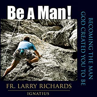 Be A Man! audiobook cover art