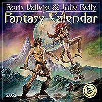 Boris Vallejo and Julie Bell's Fantasy 2021 Calendar