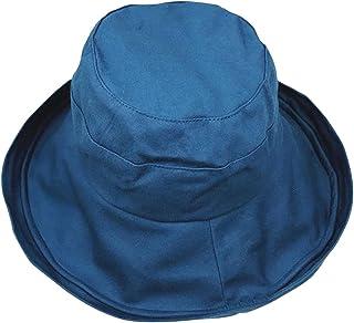 Plus Nao(プラスナオ) 帽子 ハット つば広帽 折り畳み レディース ツバ広帽 あご紐付き 日焼け予防 日焼け防止 紫外線対策 UV対策 日よけ