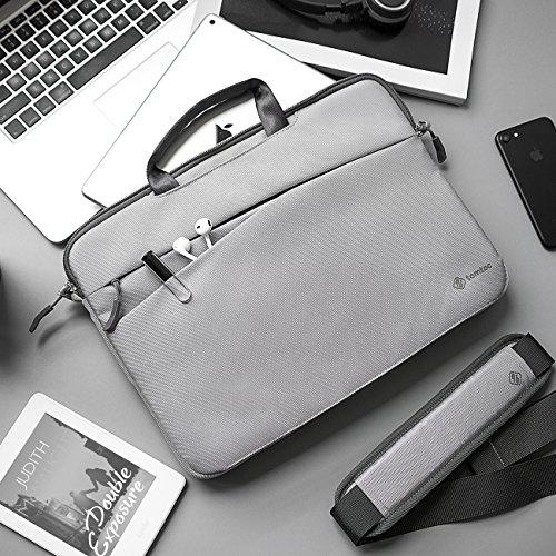 tomtoc Schultertasche Hülle für 13,3 Zoll Alt MacBook Air, 13,5