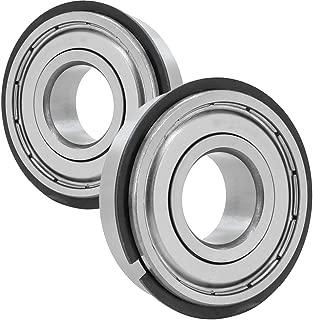 2 x 6308-ZZ-NR Bearing 40mm x 90mm x 23mm Metal Shield W/Snap Ring NEW